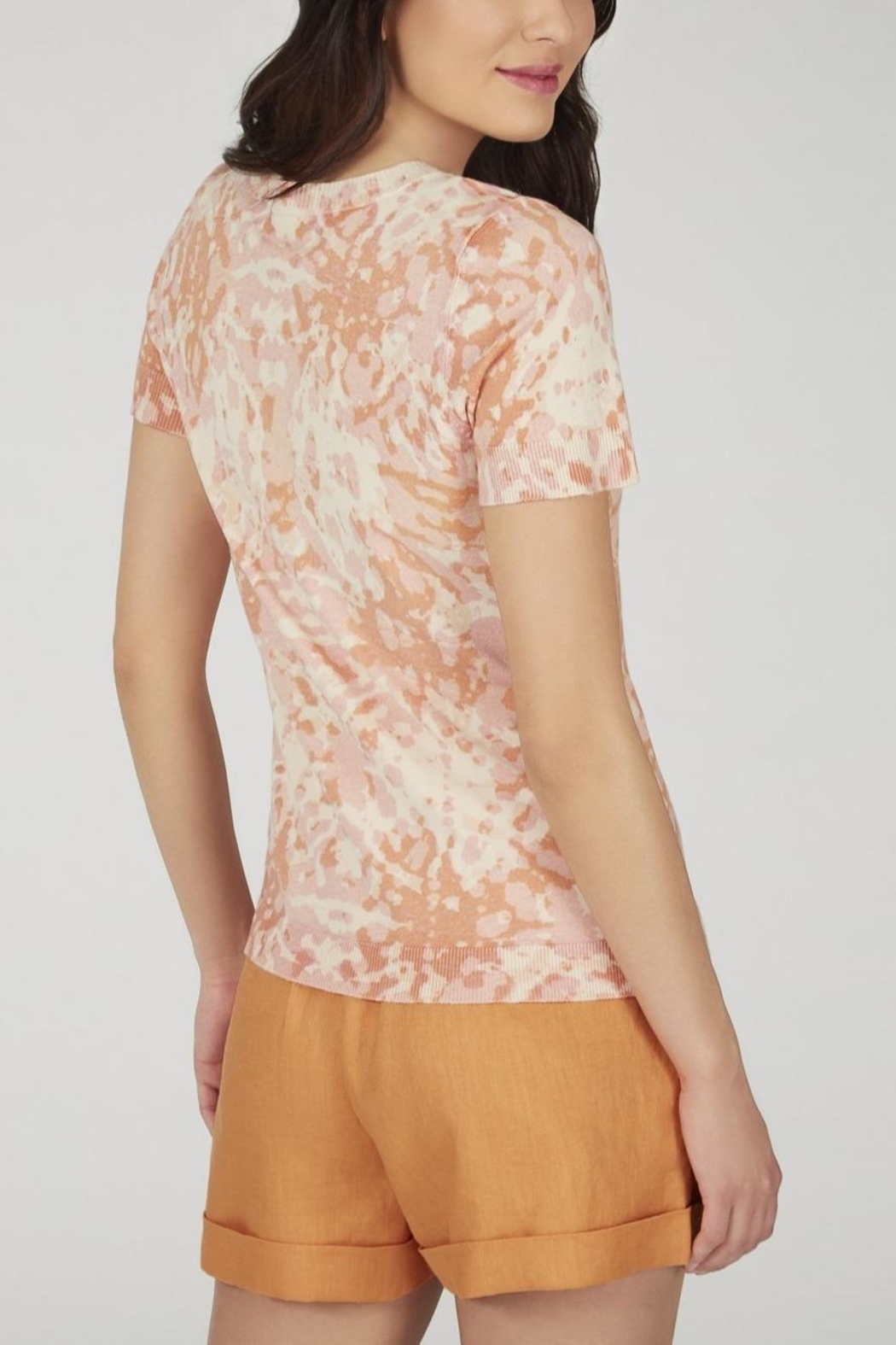 525 America Printed Knit Top - Side Cropped Image