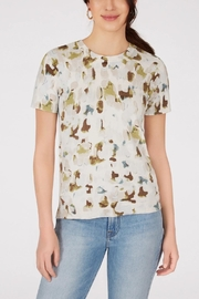 525 America Printed Short Sleeve Knit Top - Product Mini Image