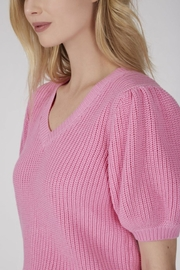 525 America Puff Sleeve Sweater - Front full body