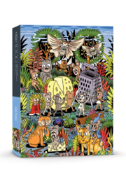 Fred and Friends 5280370 Cheese World 1,000pc Puzzle - Product Mini Image