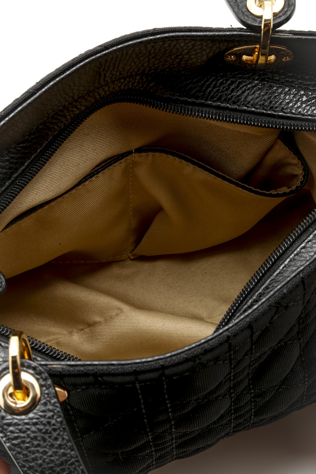 Passports Quilted Microfiber Bag - Front Full Image