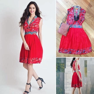 Shoptiques Product: Cherry Red Dress