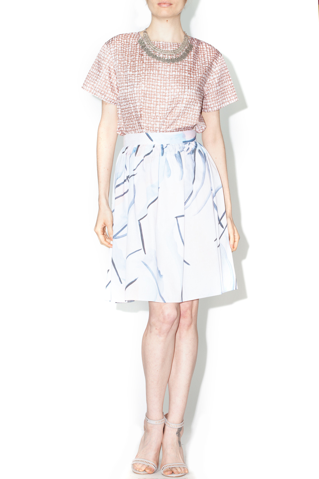 Library Waties Skirt - Front Full Image
