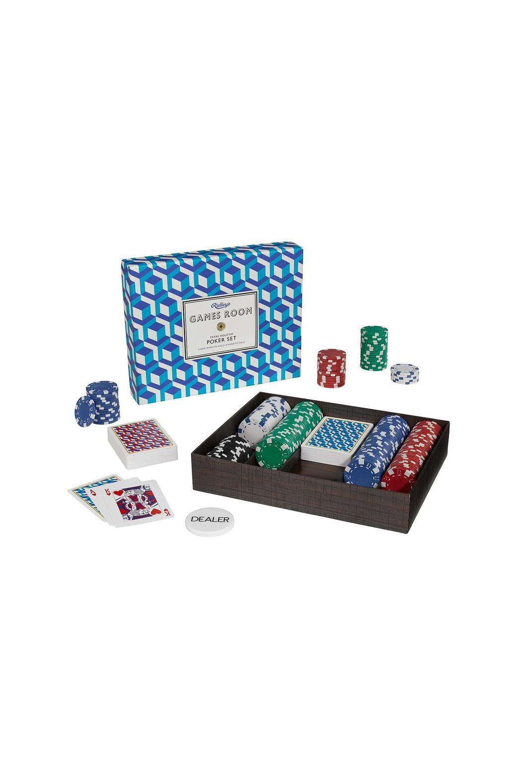 Wild & Wolf Poker Set - Main Image