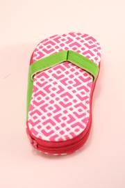 Two's Company Flipflop Manicure Kit - Product Mini Image