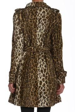 Members Only Faux-Fur Leopard Trench - Alternate List Image