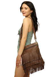 Shoptiques Product: Attitude Fringe Bag Small