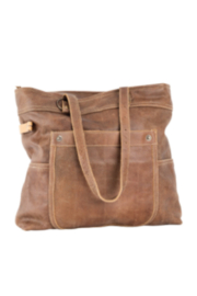 Benjamin 55610 Leather Shoulder Bag - Front cropped