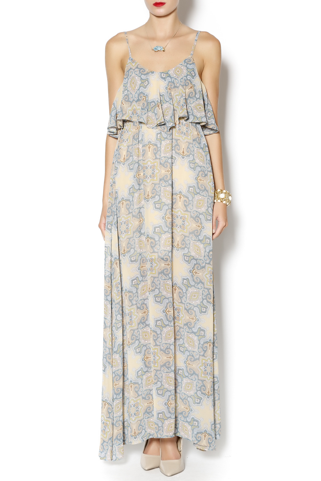 Ya Los Angeles Maxi Dress - Main Image