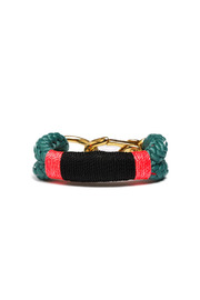 THE ROPES OF MAINE Green Kennebunkport Bracelet - Product Mini Image