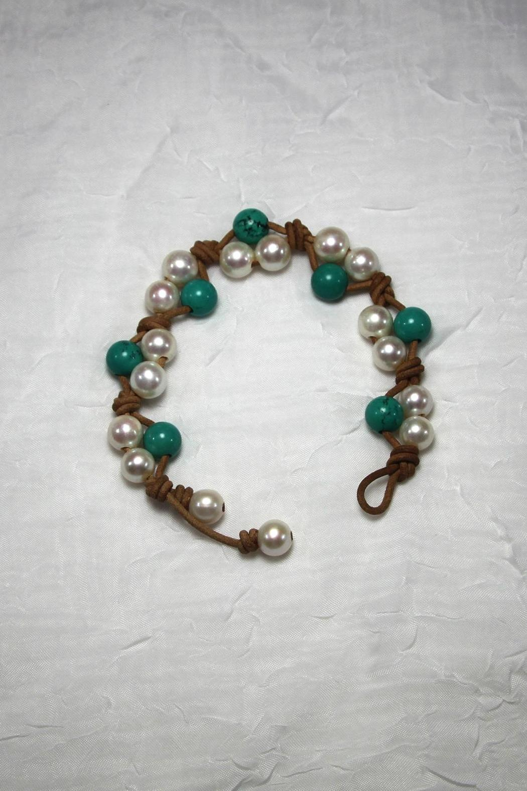 Lily Chartier Pearls Pearls And Turquoise - Main Image
