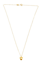 Satya Beating Heart Necklace - Front full body