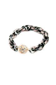 Shoptiques Product: Mixed Metal Bracelet