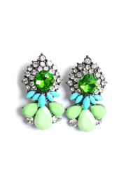 Von Z Cluster Earrings - Front cropped