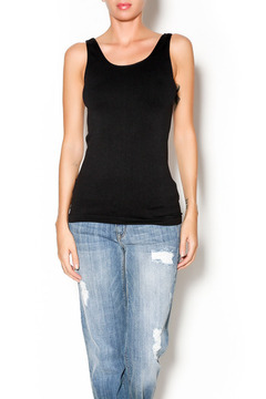 Shoptiques Product: Black Fitted Tank