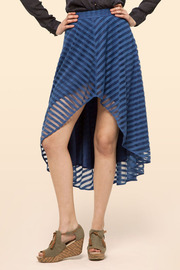 Ark & Co. Hi-Low Skirt - Front cropped