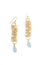 Shoptiques Product: Opal Drop Earrings