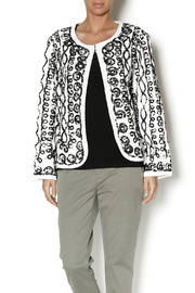 Keren Hart Black White Cardigan - Product Mini Image