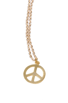 Green Peace Necklace - Alternate List Image