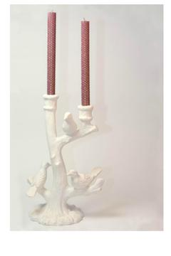 Oak Forest Sparkle Taper Candles - Alternate List Image