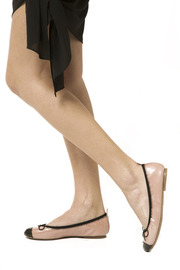 Restricted Faux Leather Flat - Other