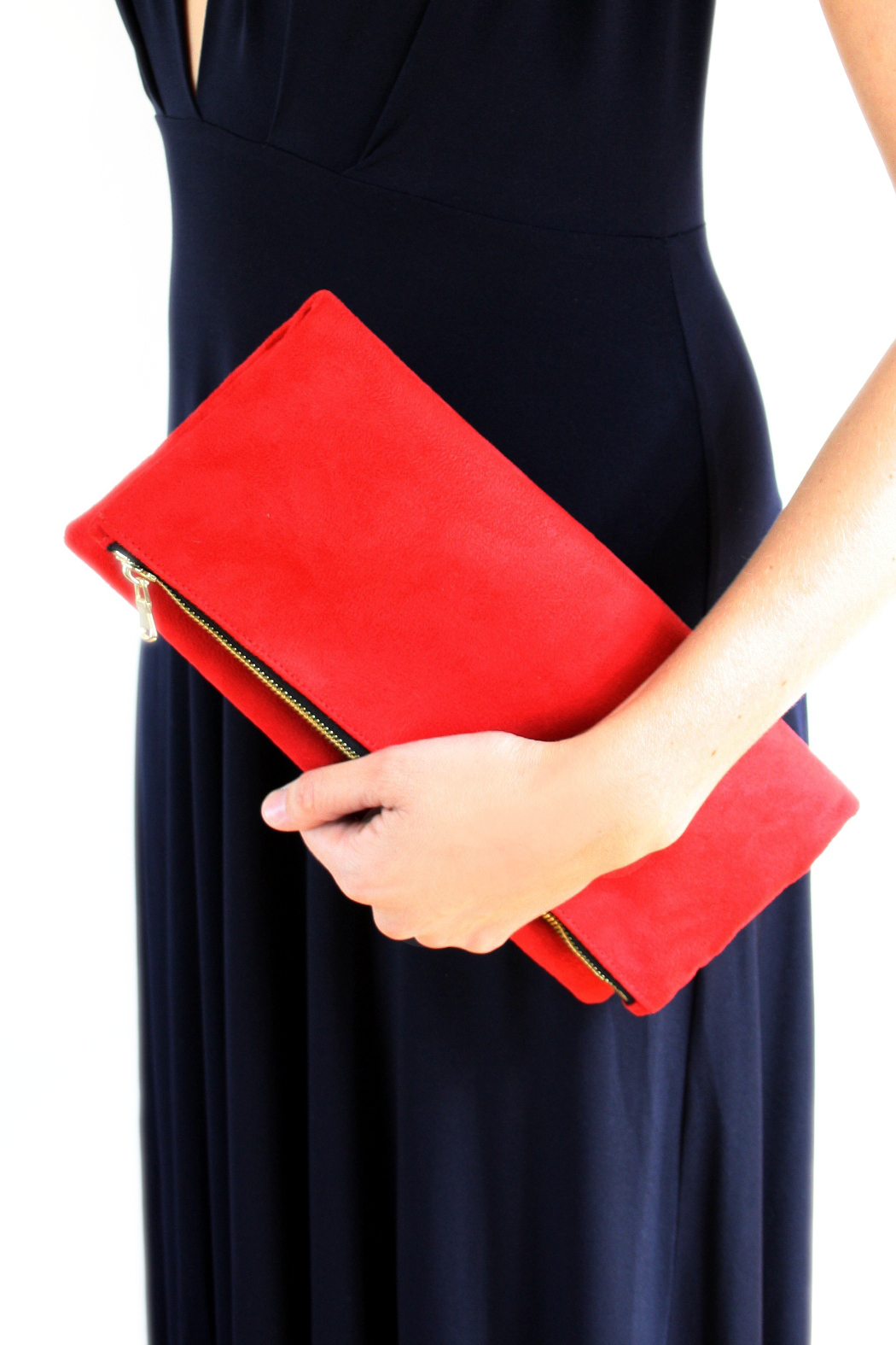 Victoria Khoss Foldover Clutch - Side Cropped Image