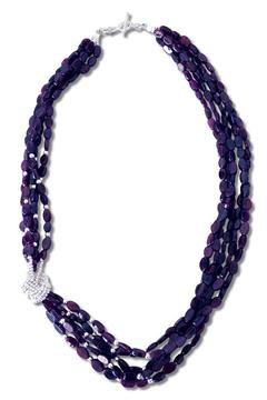 Xuxek Side Knot Necklace - Alternate List Image