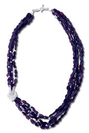 Xuxek Side Knot Necklace - Front cropped