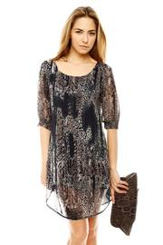 Shoptiques Product: Animal Print Dress