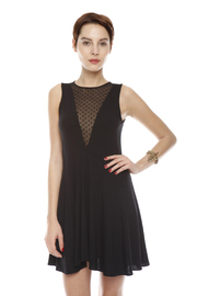Shoptiques Product: Black Short Sleeve Dress