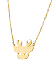 felicie aussi Deer Necklace - Product Mini Image