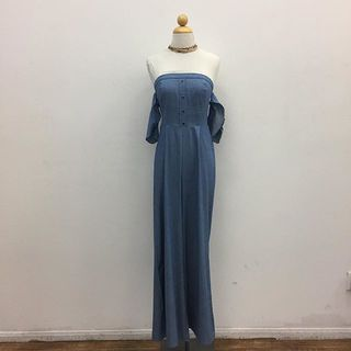 Shoptiques Off Shoulders Jumpsuit