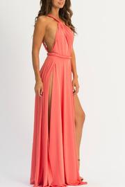 Abyss Vamp One-Shoulder Maxi - Side cropped