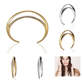 Shoptiques Product: Crescent Gold Moon Cuff