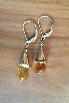 Melinda Lawton Jewelry Citrine Briolette Earrings - Alternate List Image