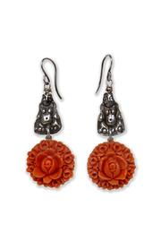 on u Silver Buddha Earrings - Product Mini Image