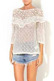 A'reve Crochet Top - Product Mini Image