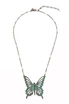Ornamental Things Butterfly Fairy Necklace - Product List Image