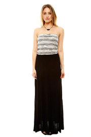 Shoptiques Product: Knit Top Maxi Dress