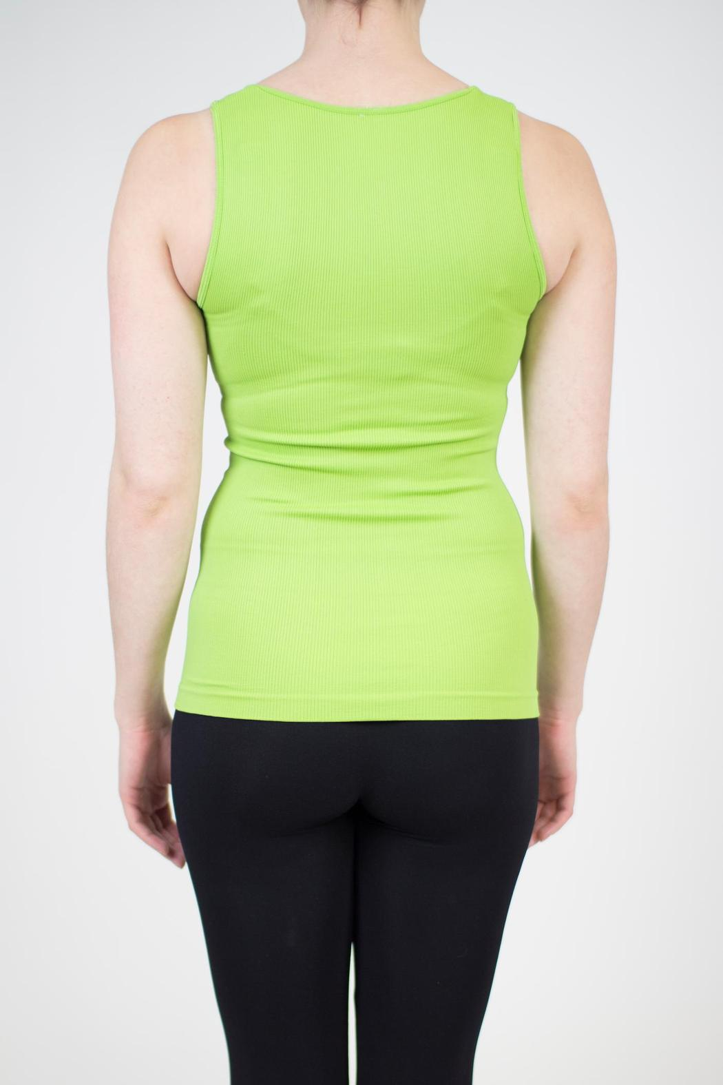 Sugarlips Seamless Ribbed Tank - Side Cropped Image