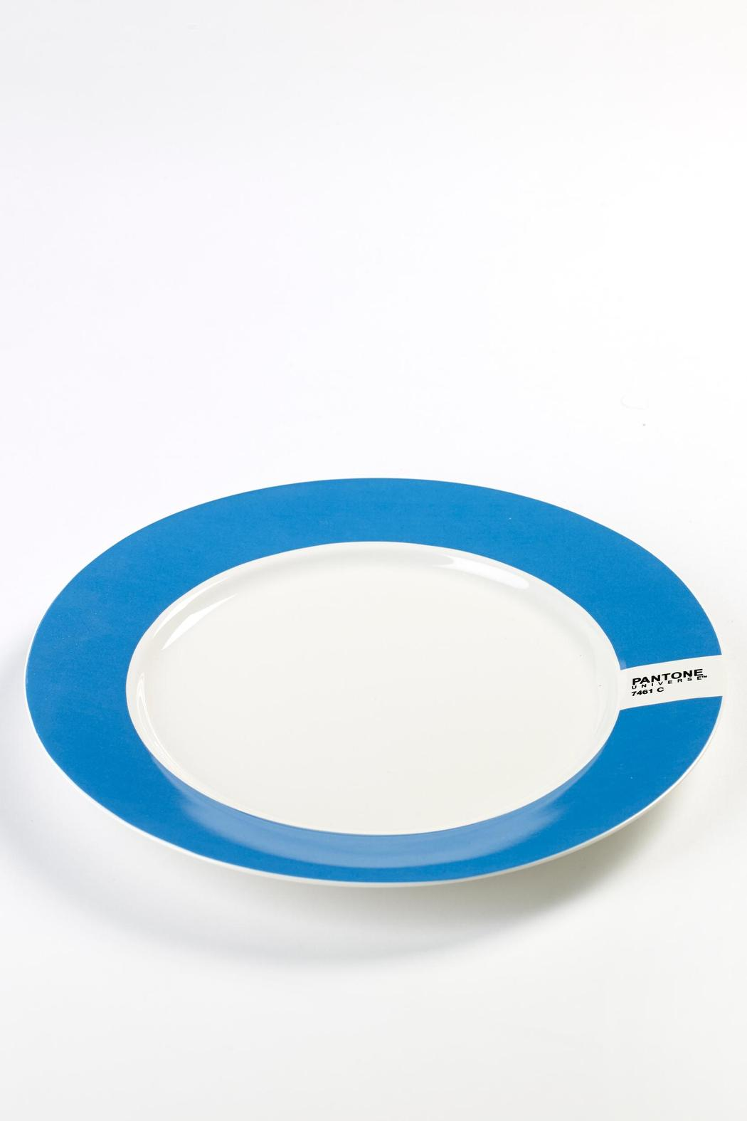 Pantone Dinner Plates - Front Full Image & Pantone Dinner Plates from Columbus by Happy Go Lucky \u2014 Shoptiques