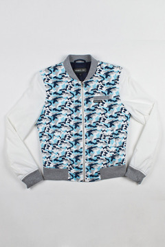 Members Only Camouflage Baseball Jacket - Alternate List Image