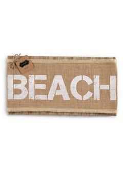 Mud Pie Beach Pillow Wrap - Product List Image