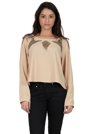 Shoptiques Product: Long-Sleeve Embellished Top