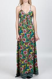En Creme Flower Printed Maxi - Product Mini Image