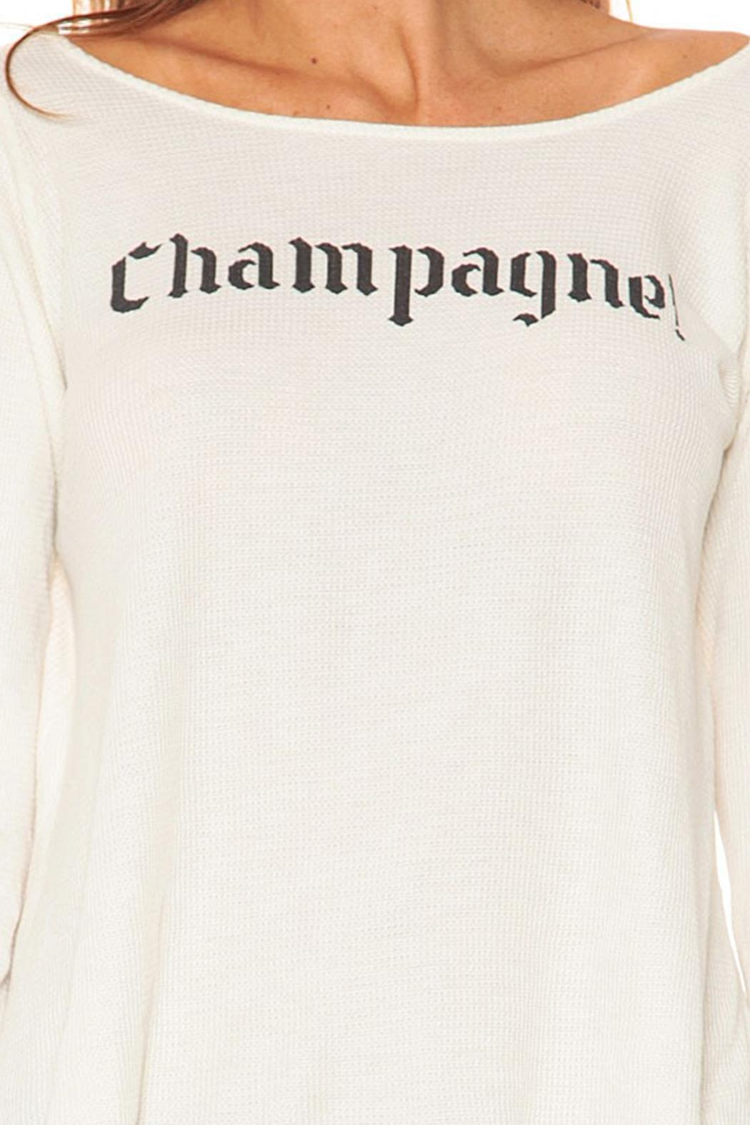 Wildfox Champagne Thermal - Back Cropped Image