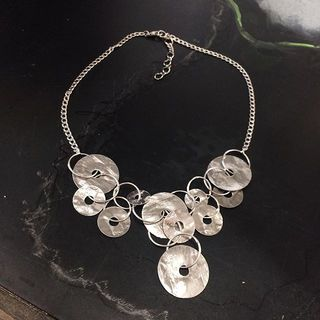 Shoptiques Product: Silver Metal Necklace