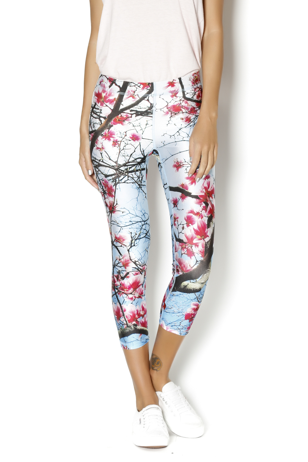 ce06987d3ba3e Zara Terez Cherry Blossom Capri Leggings from Kansas City by Trio ...