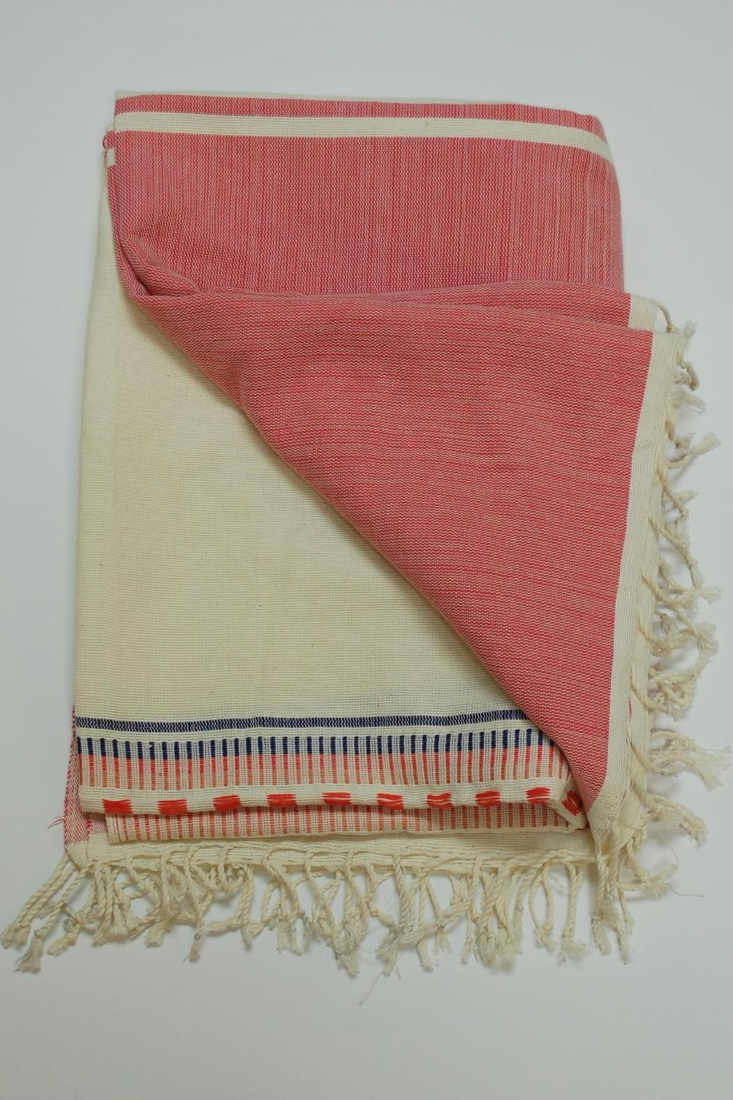 FashionAble Ethiopian Cotton Blanket from Palm Beach by Frankie