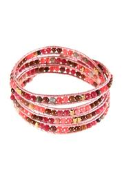 Ananda Leather Wrap Bracelet - Product Mini Image